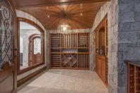 Stunning Basement with Wine Room