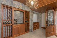 Stunning Basement with Wine Room